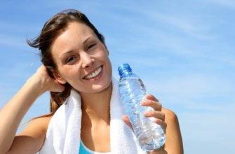 Питьевой режим при тренировках