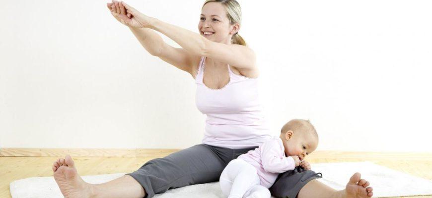 Можно ли заниматься спортом кормящим мамам?