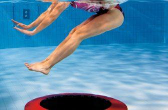 Aqua Jump – прыжки на батуте в воде
