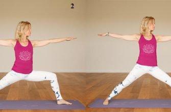 Всего 4 упражнения из йоги – результат сильные ноги!