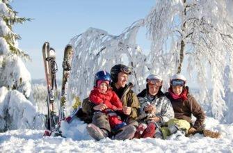 Спортивный досуг зимой